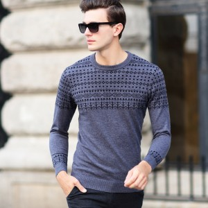 Модные мужские свитера 2017-2018