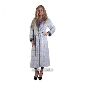 Женский халат большого размера