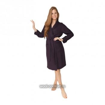 Женский вафельный халат