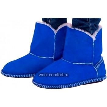 Угги женские синие