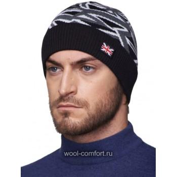 Модная шапка в британском стиле